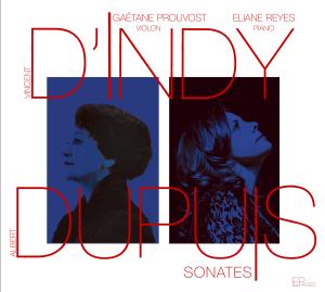 couverture cd d'Indy avec Eliane Reyes